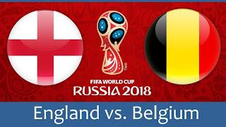 انتهت مباراه انجلترا وبلجيكا اليوم 14-7-2018 علي المركز الثالث بفوز بلجيكا بنتيجه 2 - 0