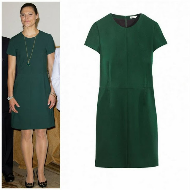 Crown Princess Victoria in Filippa K. Dress