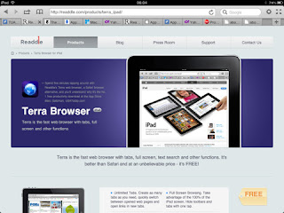 Terra - Web Browser per iPad