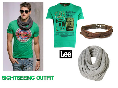 Travel outfit, Men's fashion