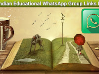 Indian Educational WhatsApp Group Link List - 500+ Indian education WhatsApp Groups