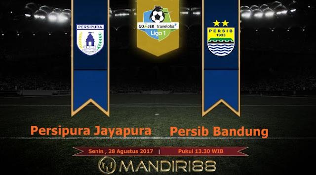 Prediksi Bola : Persipura Jayapura Vs Persib Bandung , Senin 28 Agustus 2017 Pukul 13.30 WIB