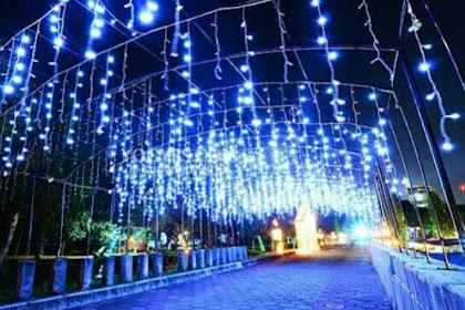 Harga Tiket Masuk & Lokasi Taman Pelangi Monjali, Wisata Malam Yang Hits Di Yogyakarta
