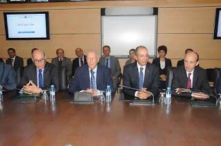 تسليم السلط بين السيد رشيد بن المختار بن عبد الله والسيد محمد حصاد، وزير التربية الوطنية  الجديد