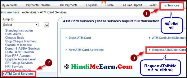 e-services pe click kae