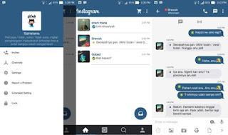 BBM Mod Instagram Terbaru v3.2.5.12 Apk full DP