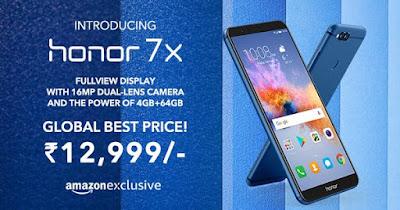 Honor 7X free