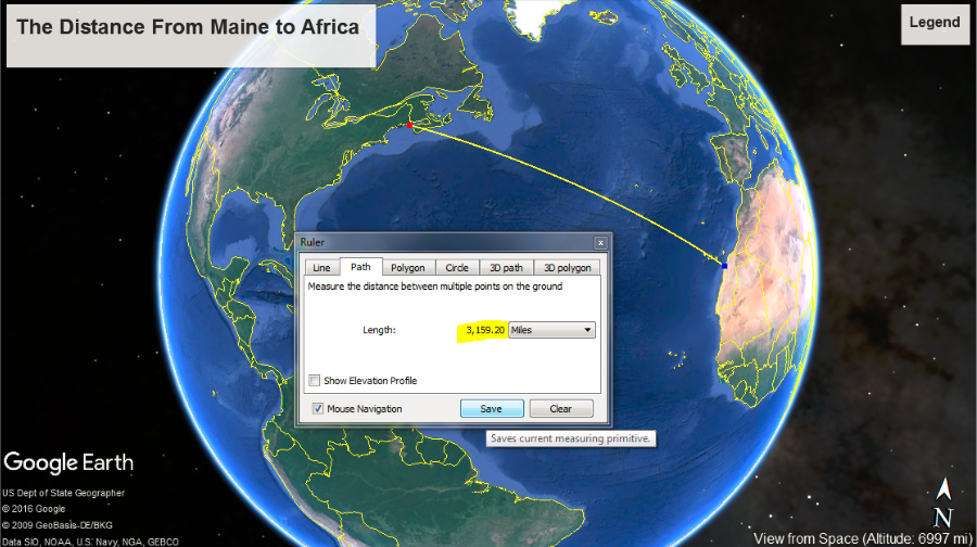 Florida To Maine Map.Something Geography Map Oddities You May Not Know What S The