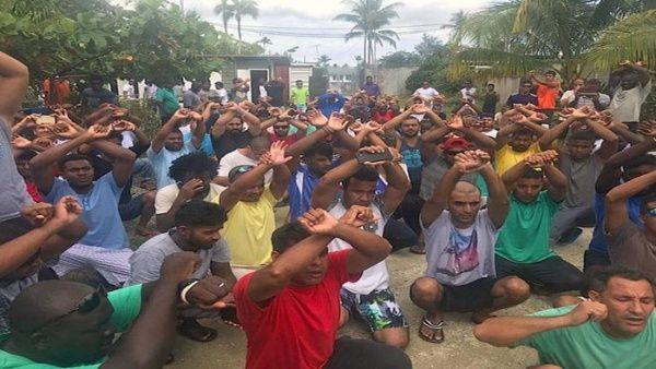 ONU pide a Australia evitar crisis humanitaria con refugiados