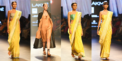 wind, elements of nature, yellow, lakme fashion week, fashion, designers, india, mumbai, models, photographers, best