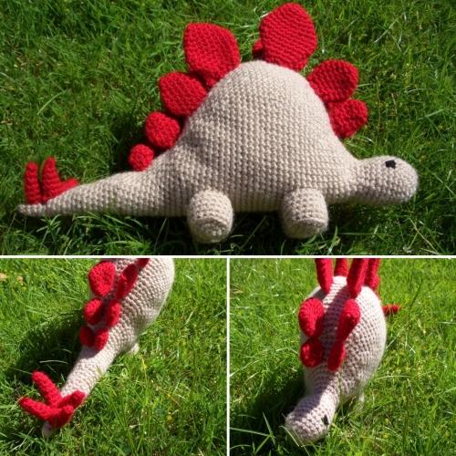 Hello Stegosaurus - Free Pattern