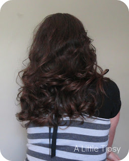 how to curl hair without heat a little tipsy