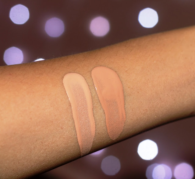 Wet n wild Photo Focus Foundation Swatches forNC 35 NC 37 NC 40 NC42  NC 44 NC 45 skin tone