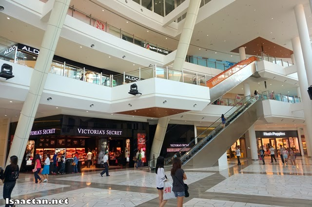 The ground floor interior of Gurney Paragon Mall Penang