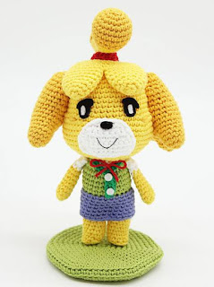 PATRON GRATIS ISABELLE | ANIMAL CROSSING AMIGURUMI 38513