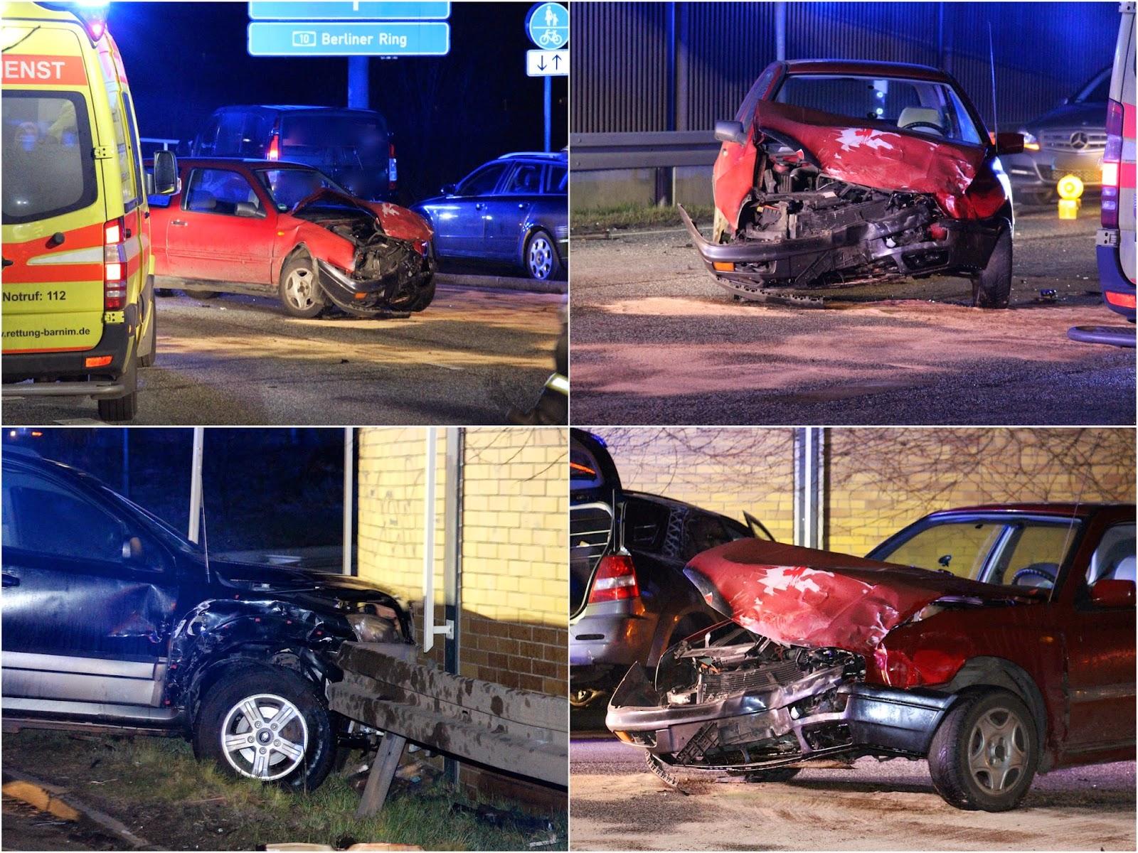 Schwerer Verkehrsunfall in Blumberg -