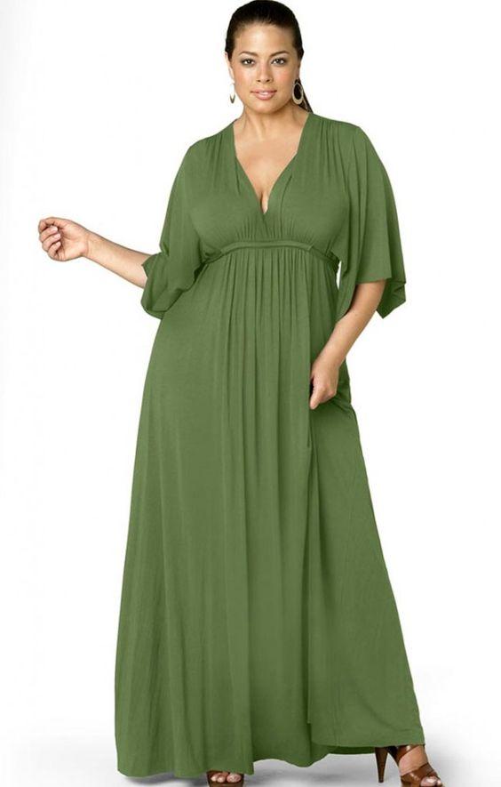 a665d1e4303ec Cómo usar maxi vestidos si soy gordita