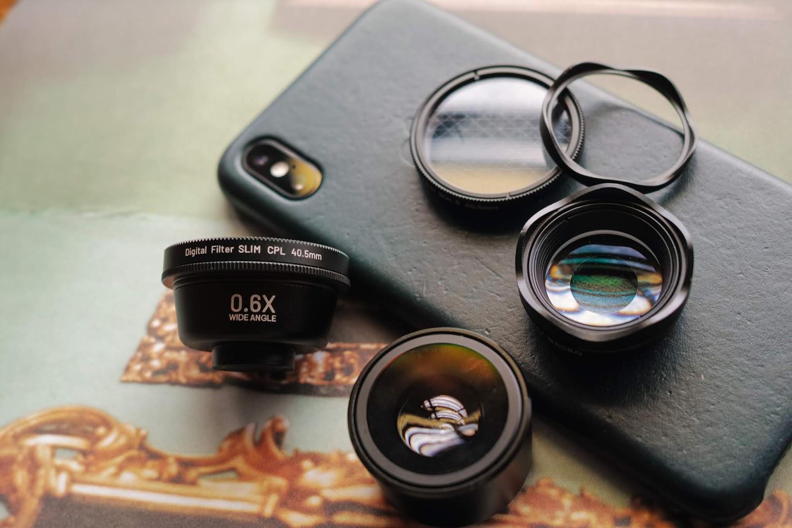 「LIEQI LQ PRO-285 / 頂級款」手機外接鏡頭推薦 | iPhone XS MAX 高畫質拍攝
