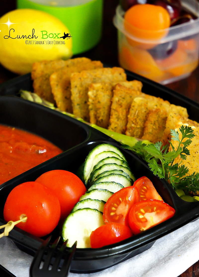 Simple and easy lunch box idea for work or school