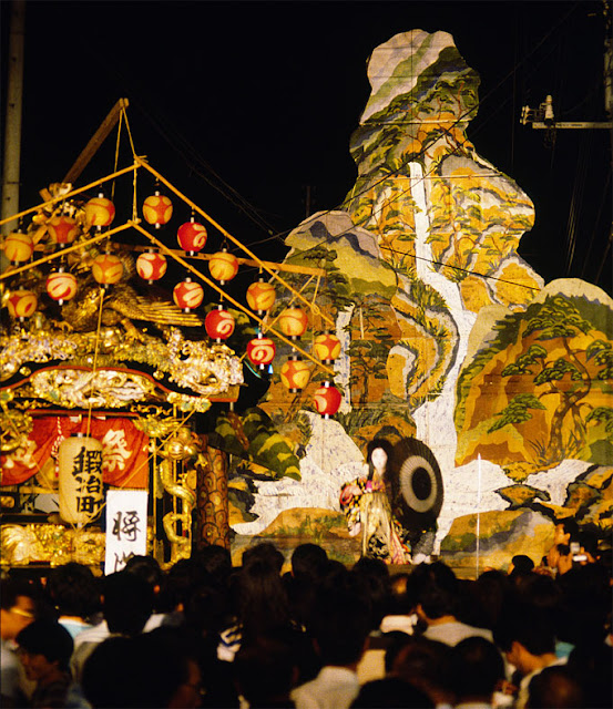 Yama-age Matsuri (making float like mountain), Nasukarasuyama City, Tochigi