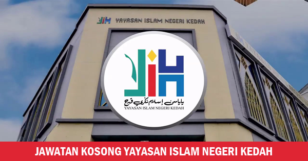 jawatan kosong yayasan islam negeri kedah