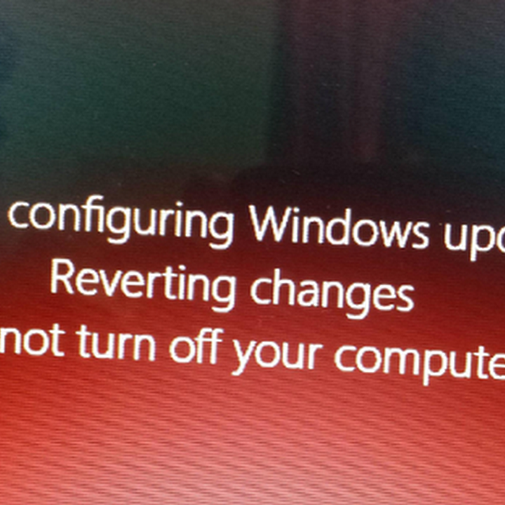 😝 Failure configuring windows updates reverting changes win7