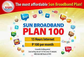 Sun Broadband Plan 100