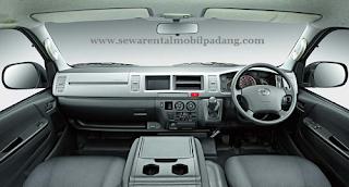 Dasbord Commuter Toyota Hiace Padang, Bukittinggi