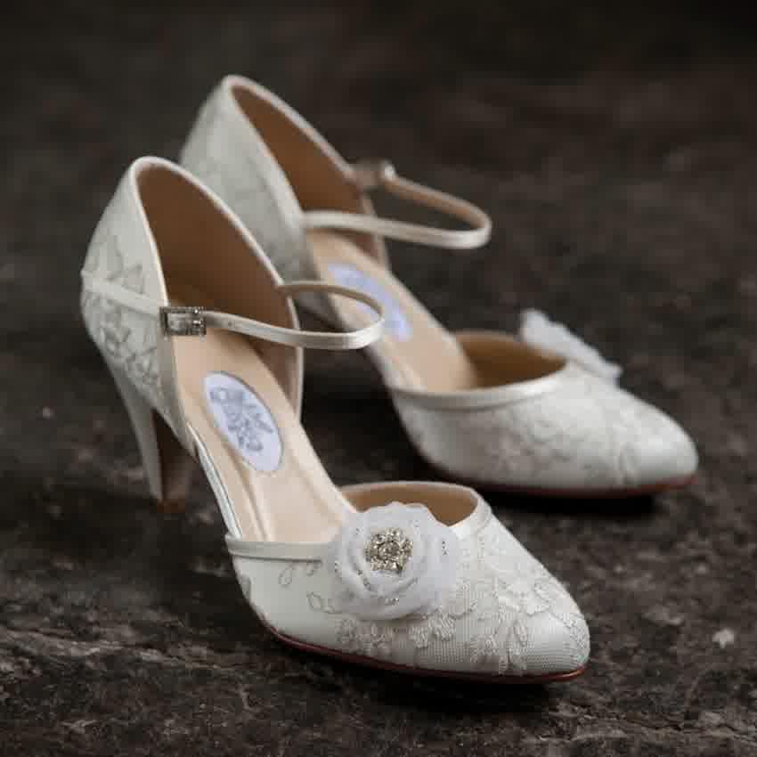 Bridal Shoes Vintage 91