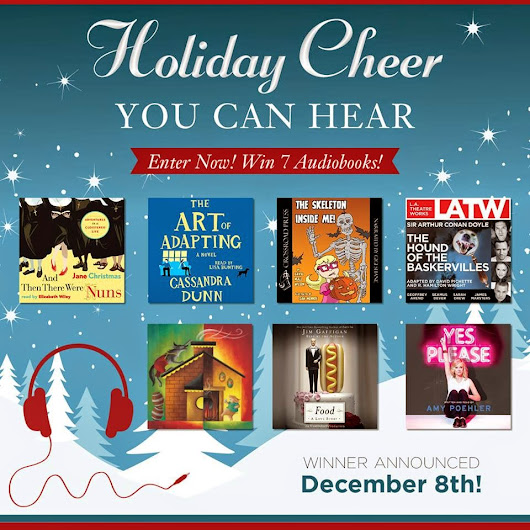 Holiday GIVEAWAYS Win 7 Audiobooks!