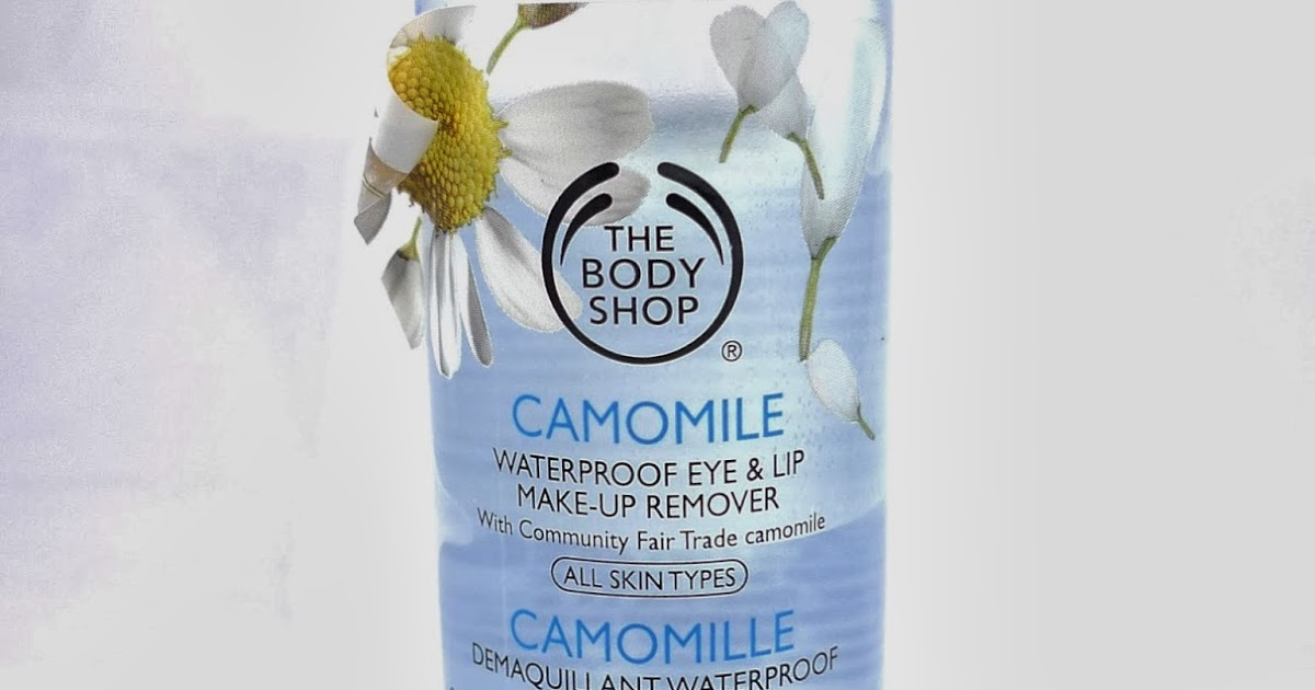 The Body Shop Camomille Waterproof Eye And Lip Makeup Remover Review | The Beauty Junkee