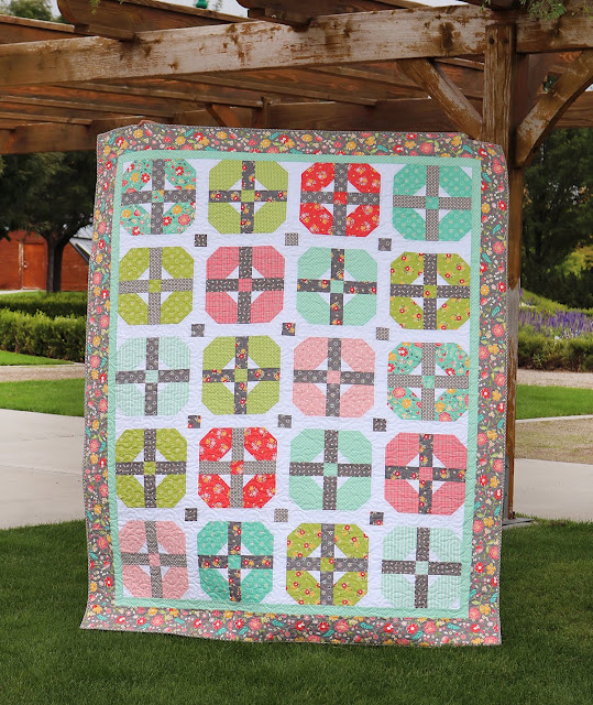 Sincerely quilt pattern by A Bright Corner