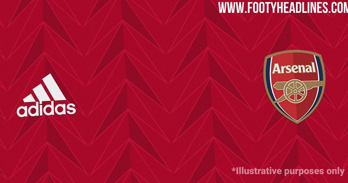 Arsenal 20 21 Home Kit Design Leaked Dark Red Footy
