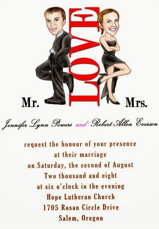Contoh Undangan Dalam Bahasa Inggris Untuk Pernikahan