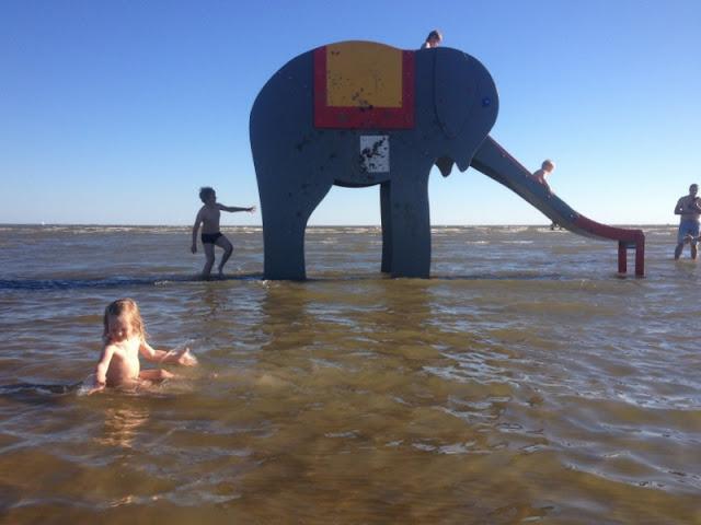 Pärnu lapset ranta elefantti