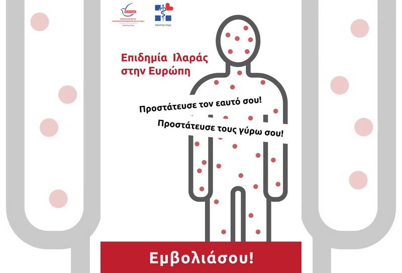 Αλεξανδρούπολη: Ενημέρωση του γενικού πληθυσμού για την πρόληψη της ιλαράς