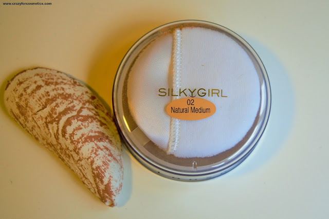 Silkygirl Shine Free Loose Powder 02 Natural Medium