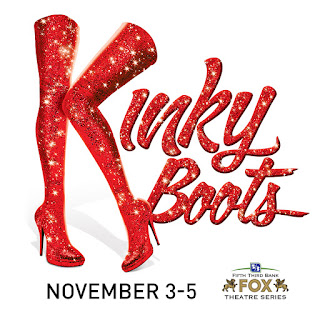 Upcoming and GIVEAWAY: Kinky Boots, Nov. 3-5, Fox Theatre, Detroit
