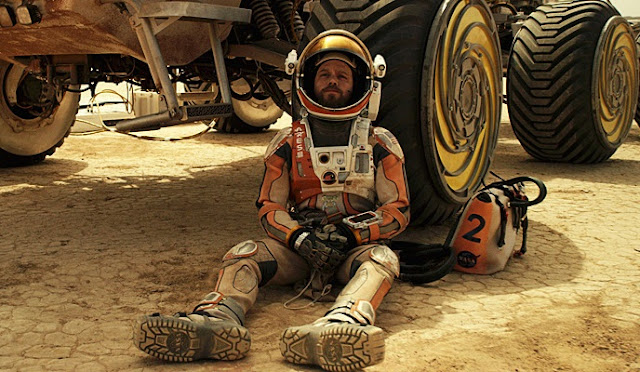 Matt Damon as NASA Astronaut Mark Watney in The Martian