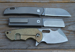 """Monte Carlo"" slipjoint, Fura Gear friction folder and Fura Cleaver"