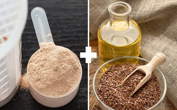 Casein and Flax