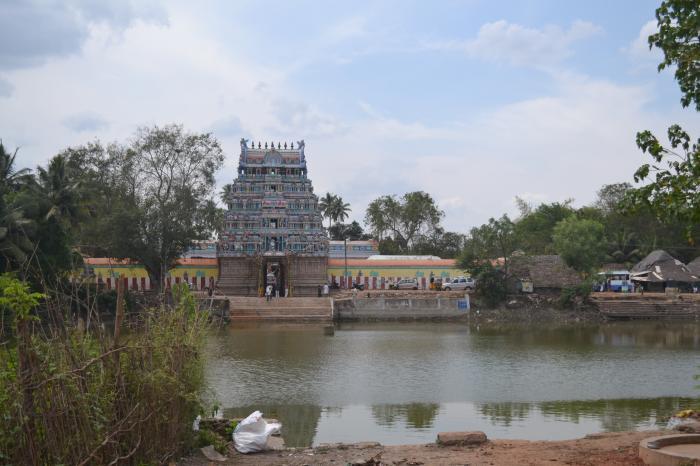 Front View Of Sri Kalyana Sundareswarar Temple