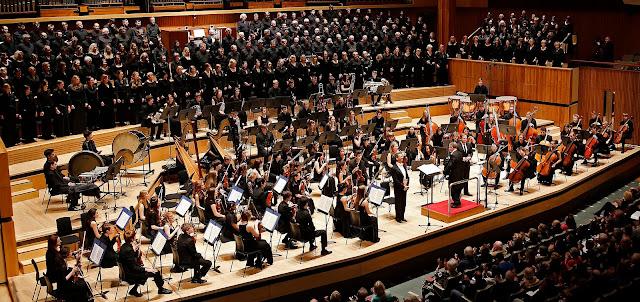 David Hill and the Bach Choir