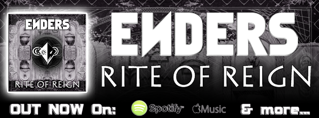 ENDERS 'Rite Of Reign' streaming on Spotify and Apple Music