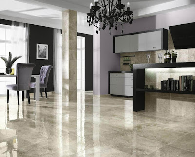 Real Marble Floor Texture and Design
