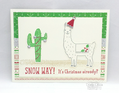 Fun Handmade Card Design Great for those Christmas Birthdays at Inkheaven!