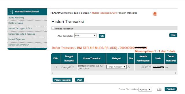 Bukti Pembayaran dari Situs Xp.Sindonesia Terbaru Agustus 2017