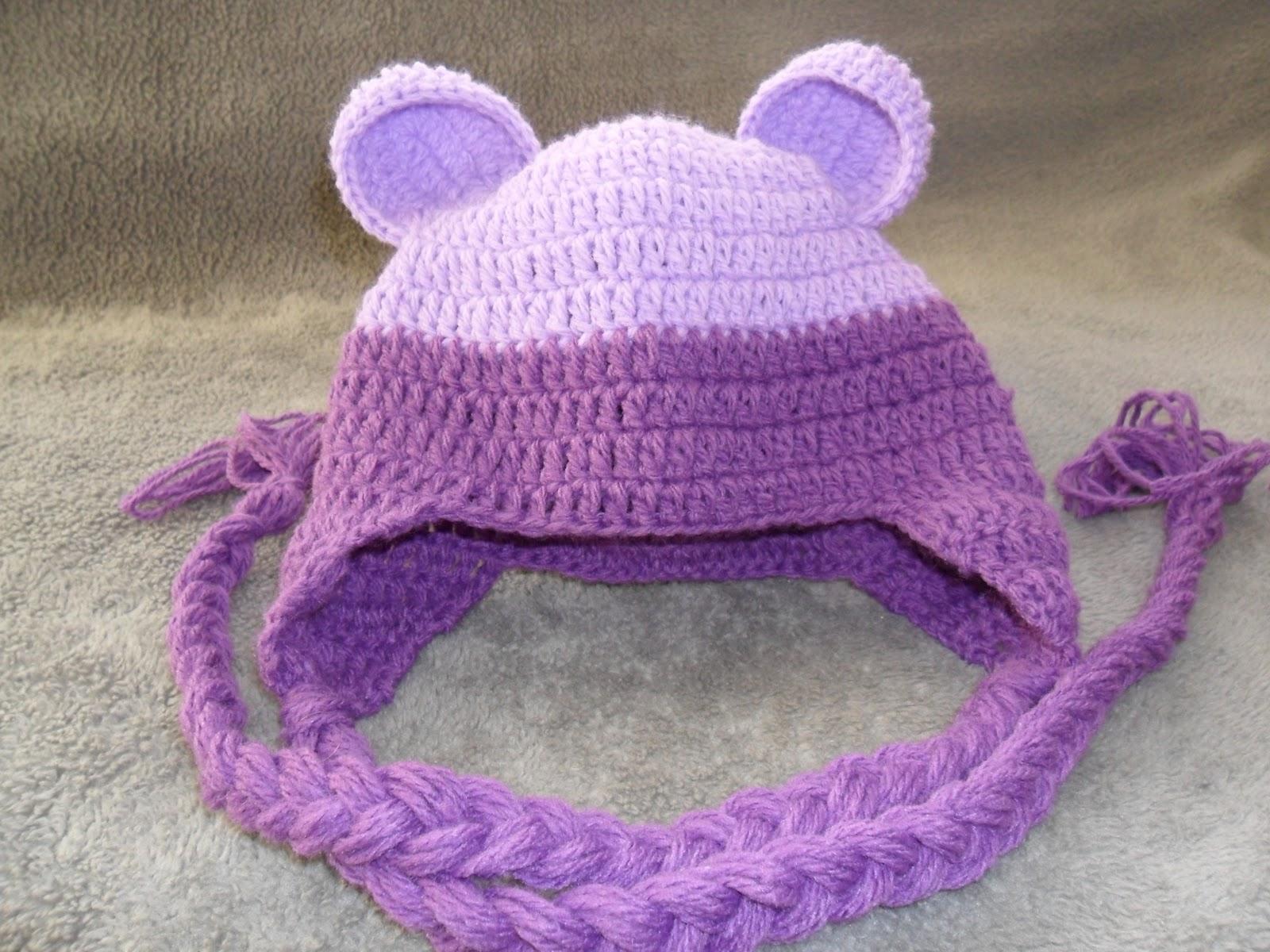 Como colocar tranças em toucas de crochê para bebês - Ateliê do Crochê 5e72f076204