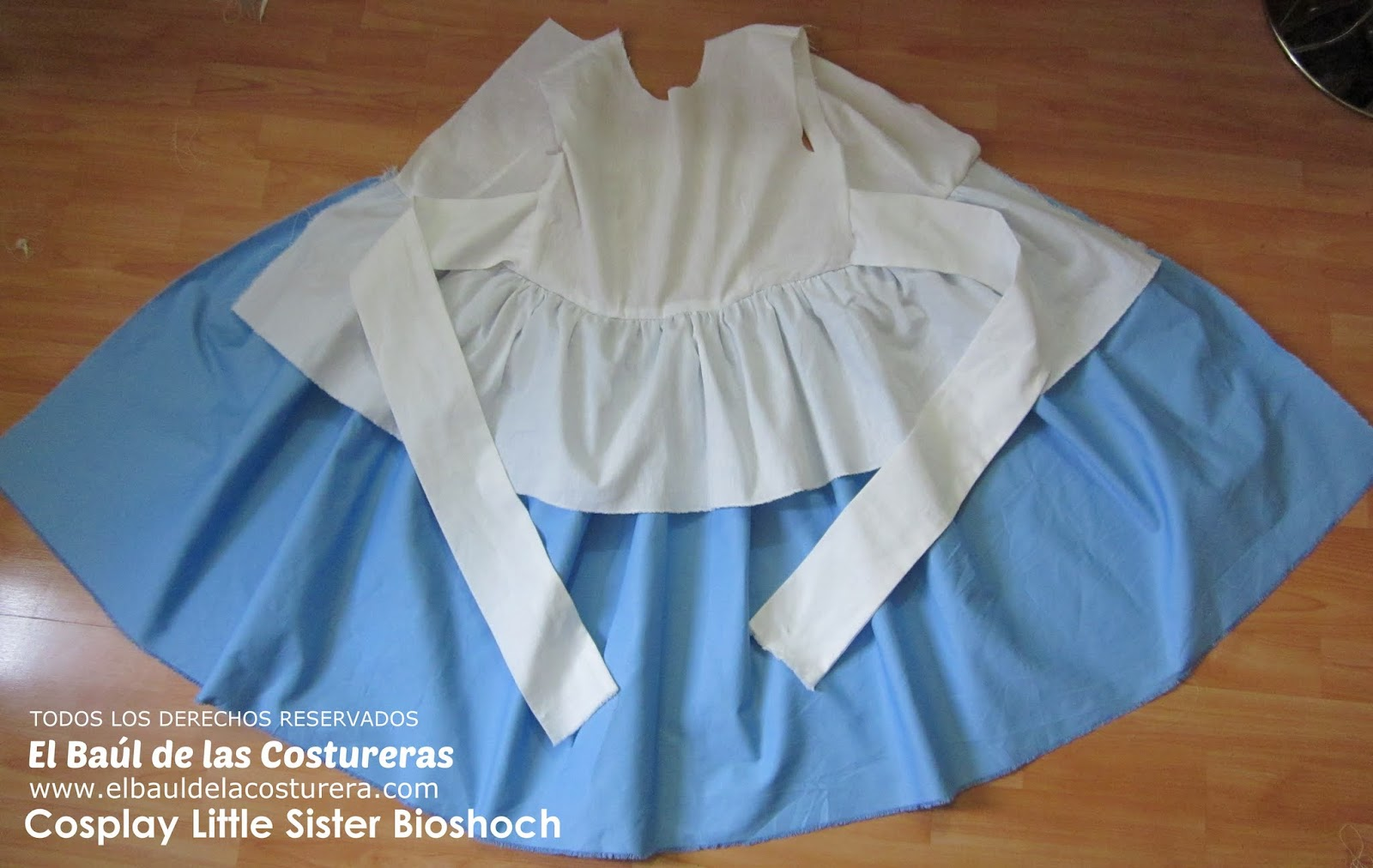 baul costureras Tutorial cosplay little sister bioshock