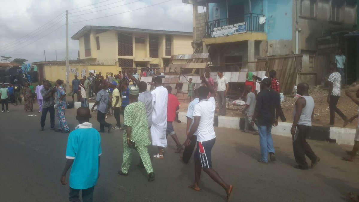 #OndoDecides: Violence Erupts At Owo LGA, Ballot Boxes Destroyed